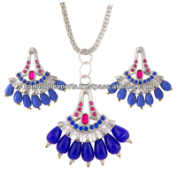 ad 950-1050) Antique Reproduction Jewelry Set With Multi Gemstone ...