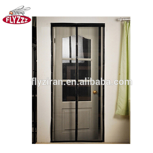 Black Amazon Hot Sale Hands-Free DIY magnet mosquito net screen door