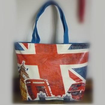 Handle Style Whole Uk Flag Bag Tote Metro City