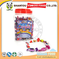 wholesale 7g clearly fruit hard candy in jar