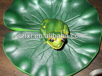 Lily Pad With Frog Buy Plastic Water Lilies Fake Water