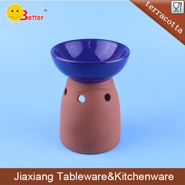 hot sale terracotta incense burner for tealight decoration