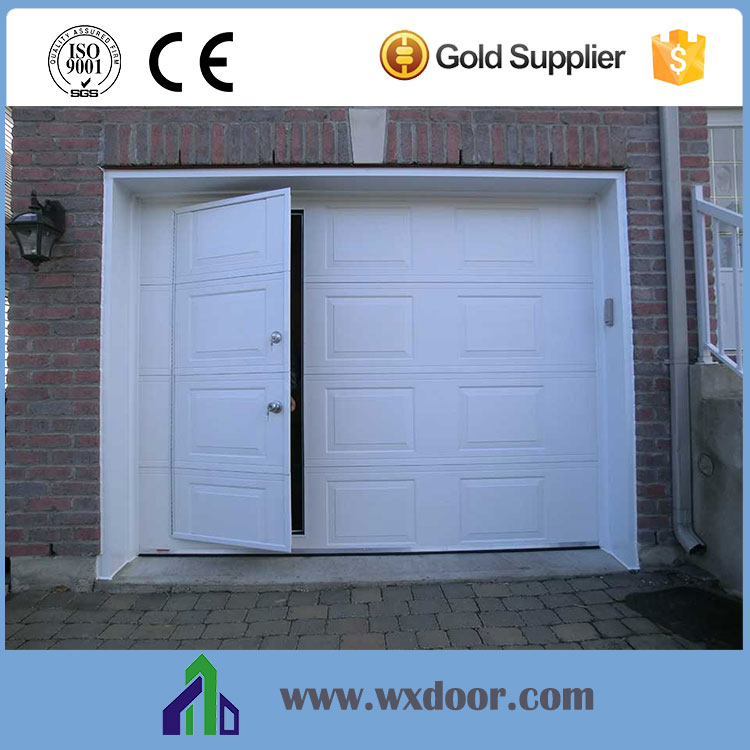 Automatic customized garage door with small door buy for Small doors for sale