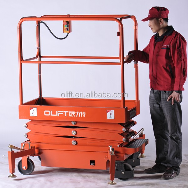 mini electric scissor lift platform electric lift mechanism