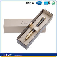 christmas gift light brown pen gift box with lid