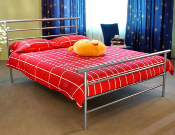 Metal Double Bed Frame King Size 5ft Without Mattress Buy Queen