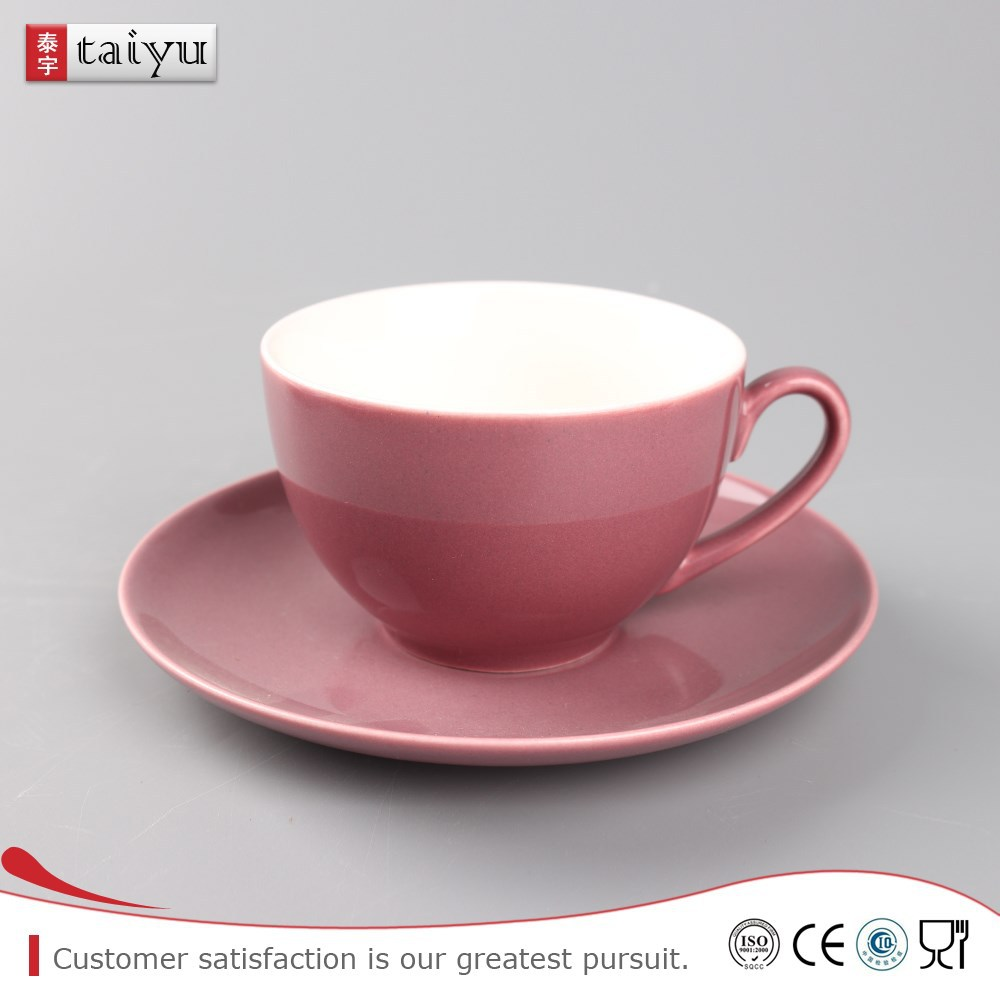 reliable various size porcelain animals cup and saucer