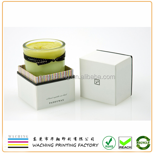 Accept Custom Order and Gift & Craft Industrial Use paper candle package box