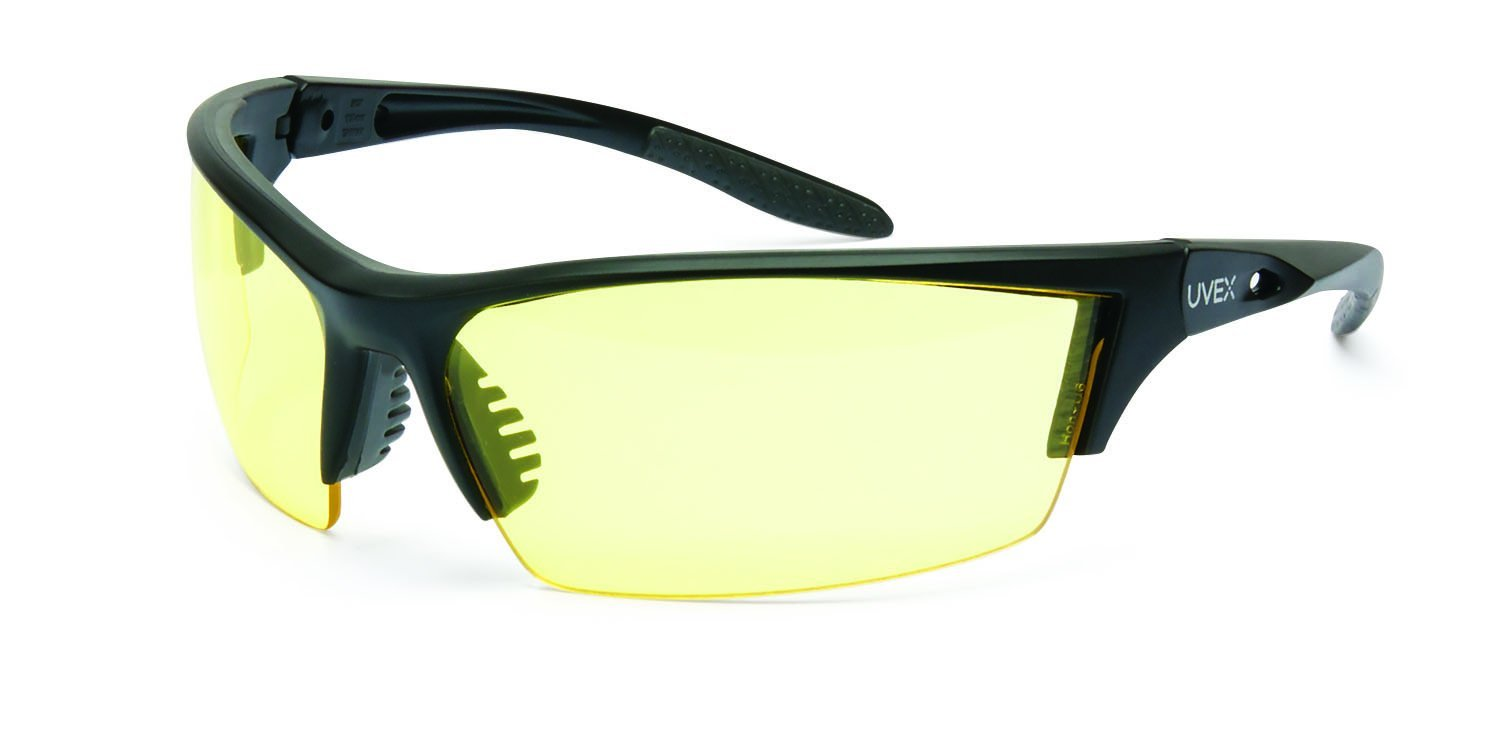 c37a2e569e UVEX by Honeywell S2822 Instinct Series Safety Eyewear with Matte Black  Frame