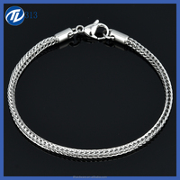 Promotional Quick Lead 316 Stainless Steel Fashion Hand Chain Jewelry India