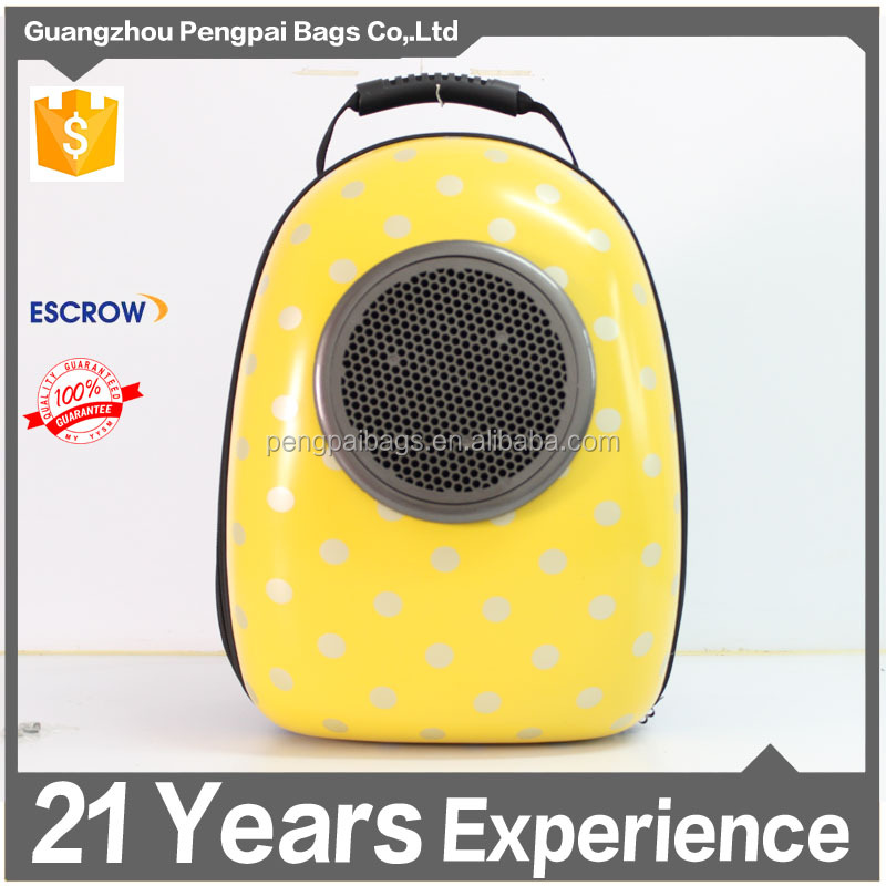 2016 new design PC materials pet backpack Space Capsule pet products bed unqiue pet products wholesale pet training products