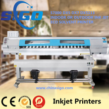 S7000 High quality 1.9m fast speed 2 heads Dx7 Head Eco Solvent Printer manufacture