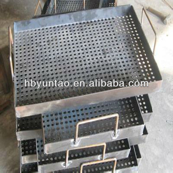 perforated metal wire mesh tray