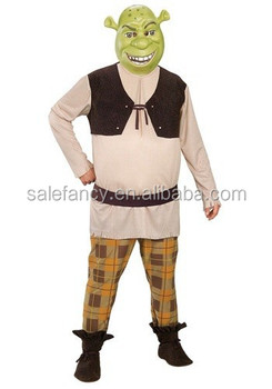 Shrek Costume Easy Man Cosplay Costumes Buy Fast Shipping Qamc 2325