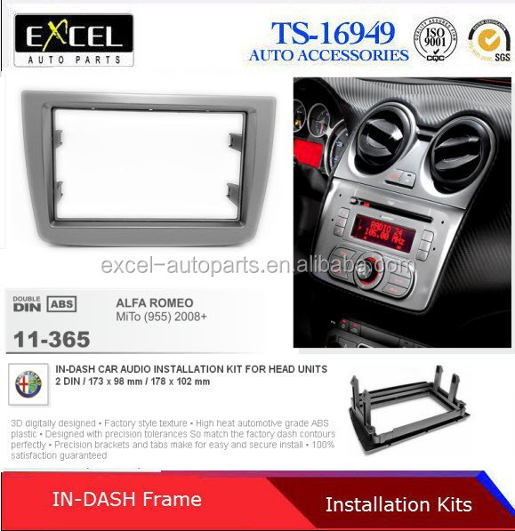 Car Radio Fascia Panel for ALFA ROMEO Giulietta (940) 2010+ (Left Wheel)