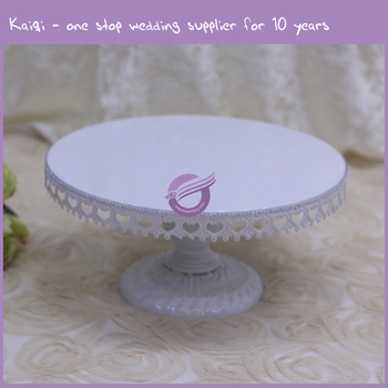 wholesale wedding cake stands zt00700 wedding white metal cake stand 1390
