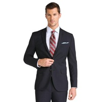 Custom Slim Fit Men's Formal Business Dress Casual Comfort Suit