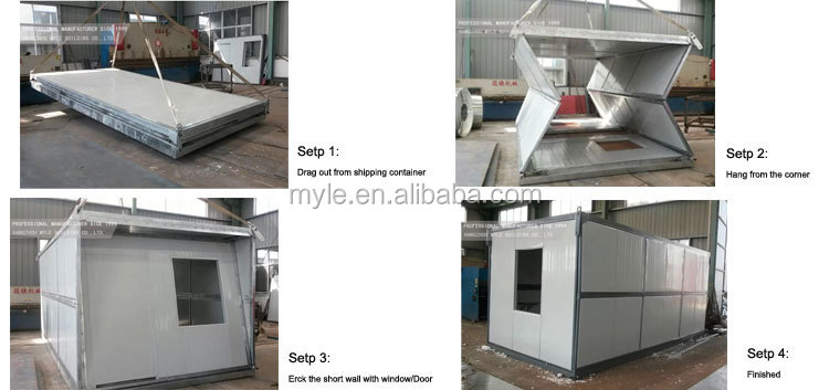 Folding house dormitory folding container house buy for Smart house container