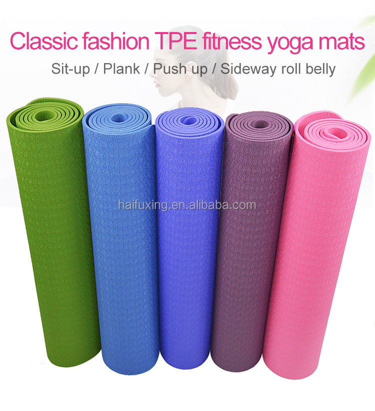 Manufacturer Workout Exercise Mat,Anti-tear Hot Pilates Pad Mats in Home excercise & fitness equipment