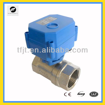 automatic 2-way shut-off valve normally closed for Air-warm valve.HVAC and fire-flight sprinkler service,Fan coil system