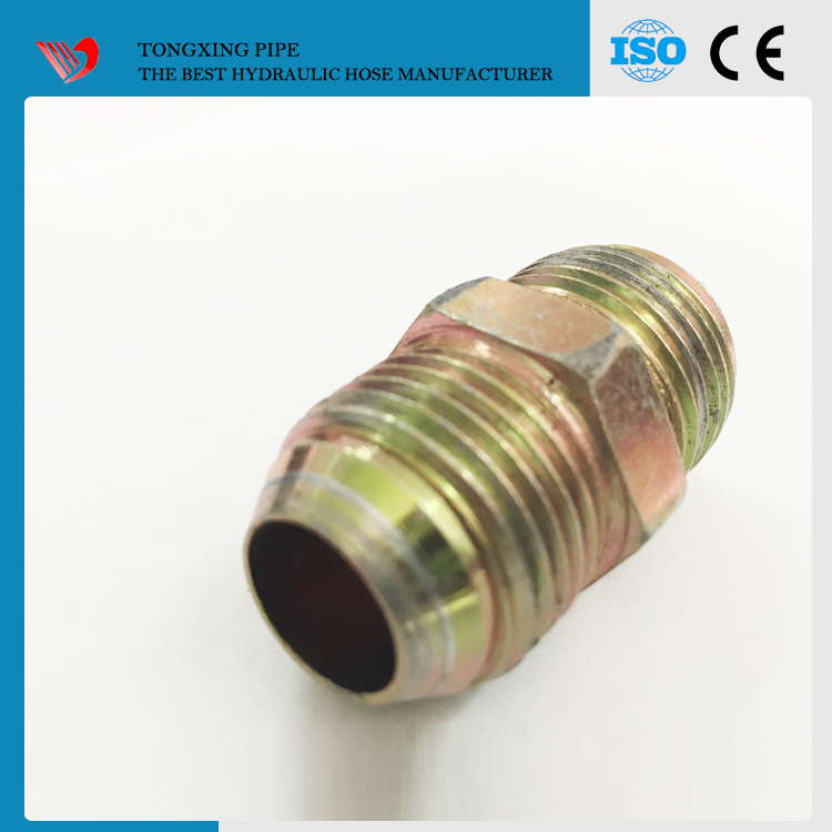 jic thread sizes hydraulic fitting jic quick release hose fittings carbon steel press fittings