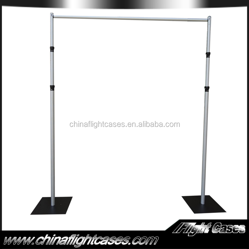 Pipe And Drape Wedding Backdrop Stand For Stage Decoration Tent Sale