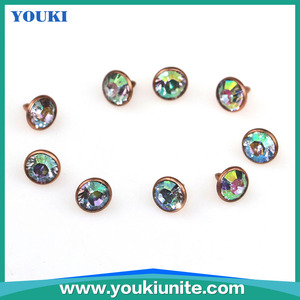 Hot sell fishon rivets ,decorative snaps and rivets for pants and bags/Garment Clothing Buttons