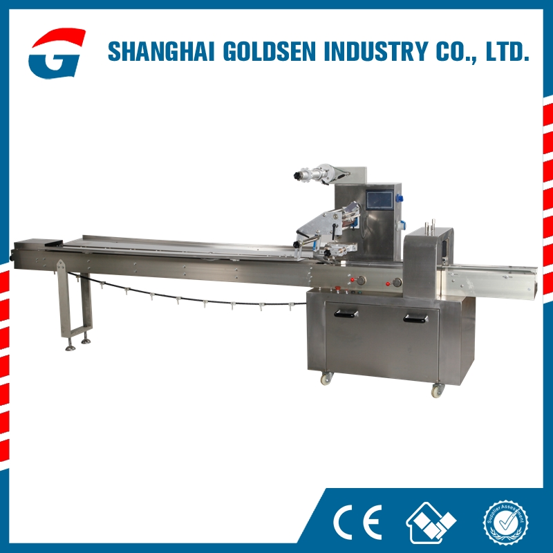 Brand new bread flow wrapper,horizontal bread wrapper,automatic bread packing machinery