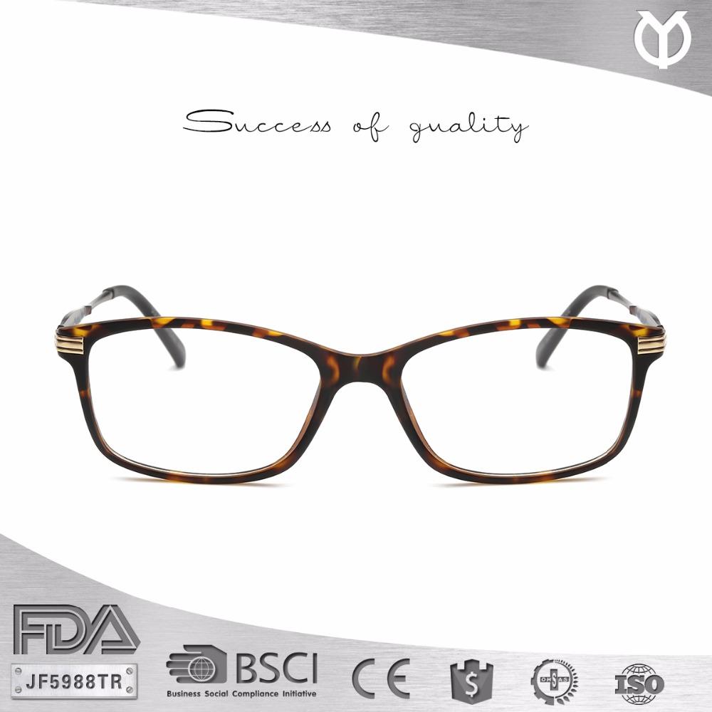 JF5988TR Lucu Gaya Vintage Kacamata Wanita Kacamata TR90 Bingkai Oval  Bingkai Optik 78f8e4f84a