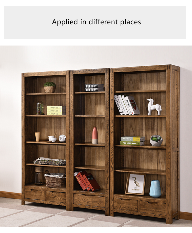 dresser l-shaped child pvc coated bookcase with doors and drawers