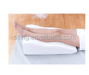 bed wedge inflatable leg rest travel pillow cushion with high quality removable cover