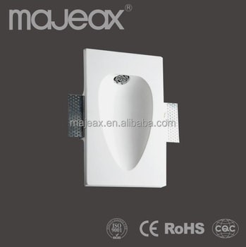 Gypsum Recessed Indirect Wall Lamp Indoor Led Wall Lights 1w