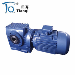 KA KF Series Helical Bevel gear double shaft hollow shaft gearbox motor