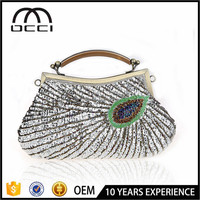 china factory online shop 2016 new beaded bag ladies party bag ES633