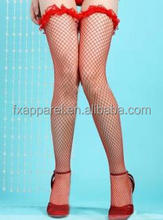 Popular Cheaper Red Net Legging Stocking Girl