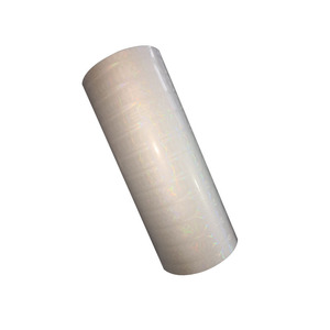 BOPP Transparent adhesive holographic lamination film plastic film roll for sale