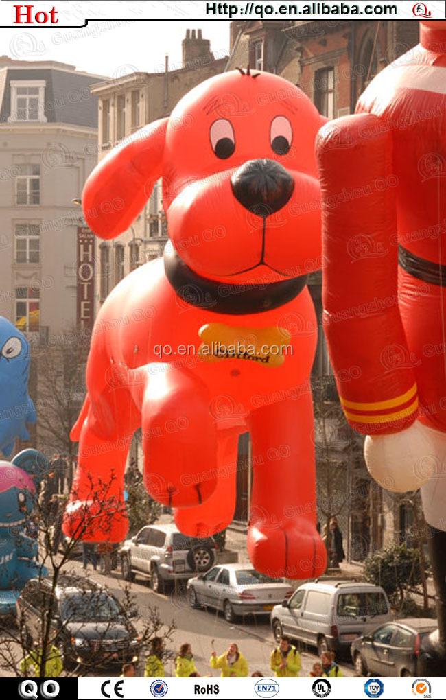 2014 Venta Caliente Vivid Precioso Inflable Gigante Perro Clifford