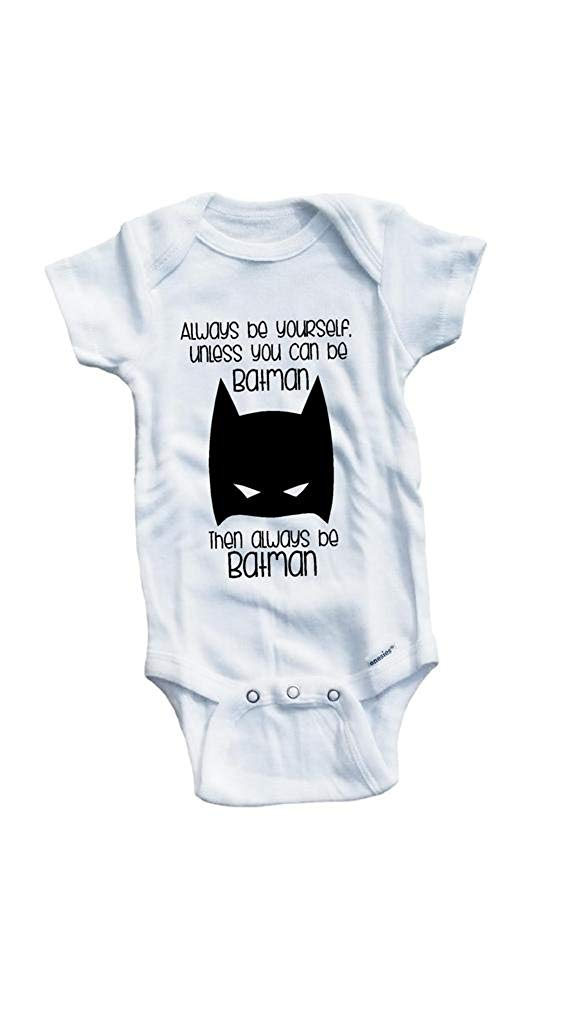 Baby Tee Time Boys' Always be yourself unless funny One piece