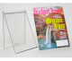 An-b609 modern design factory sell clear portable book display stands/acrylic book display stands/lucite book stands