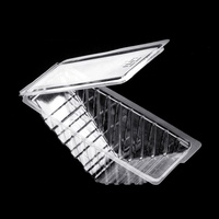PS Disposable plastic sandwich container triangle cake sandwich packaging