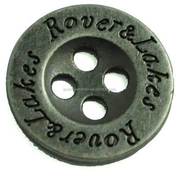 Custom Made 4 Hole Engraved Logo Metal Sewing Coat Buttons - Buy Coat  Button,Metal Coat Button,Metal Sewing Coat Button Product on Alibaba com