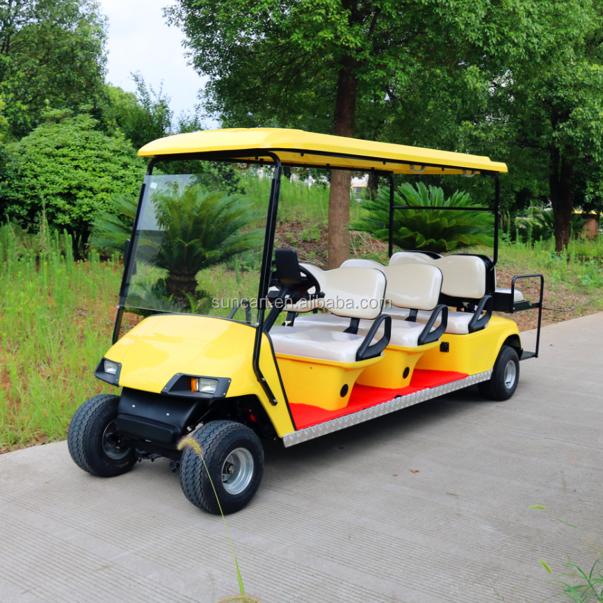 Street legal 8 seater electric golf cart electric hunting for Motorized carts for sale