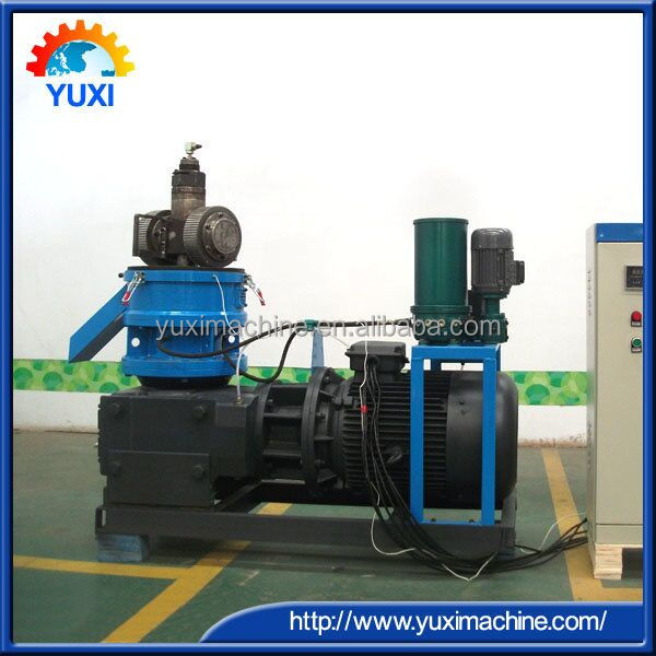 Sheep food making machine/animal poultry flat die pellet making machine/small pelletizer machine for animal feeds
