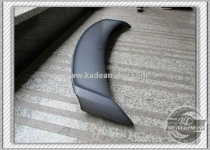 SKYLINE R35 GTR OEM STYLE REAR TRUNK SPOILER WING MATT FINISH DRY CARBON FIBER