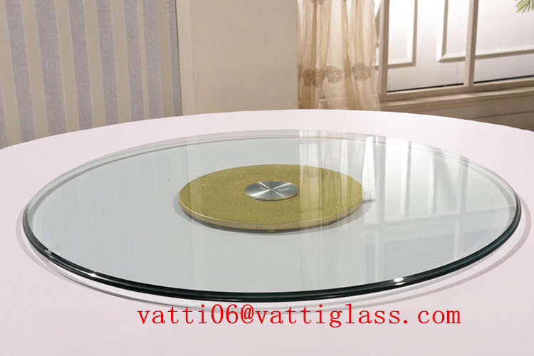 Tempered Gl Lazy Susan 50cm 60cm 70cm 90cm Turntable For Patio Table