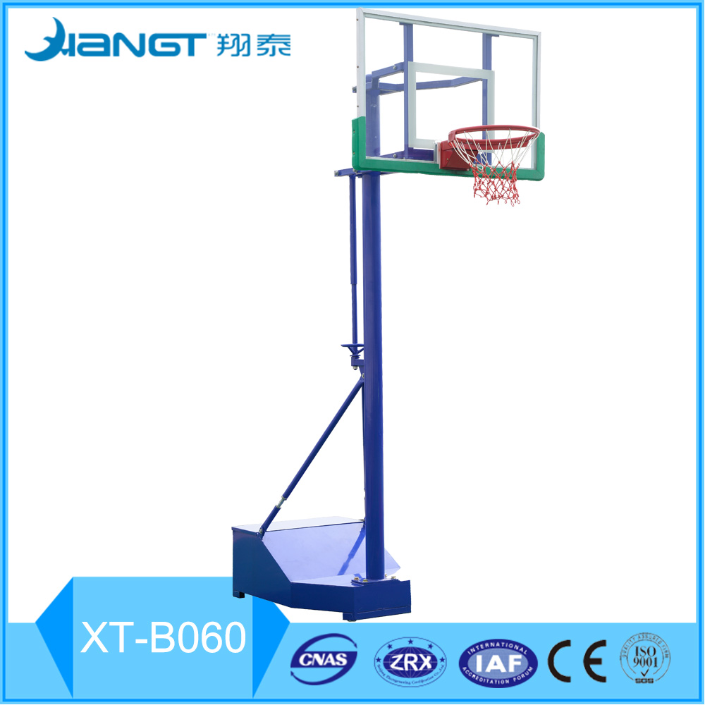Movable Height Adjustable outdoor Sports equipment portable Basketball stand