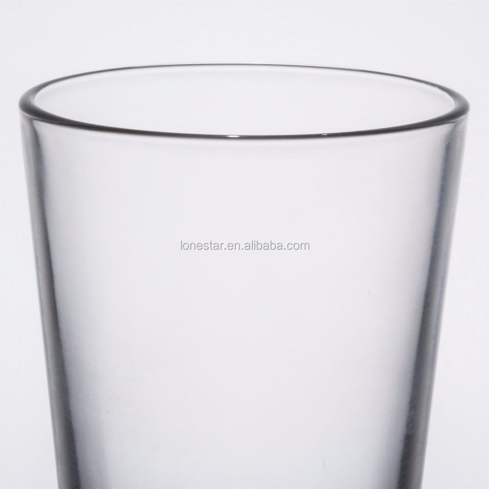 Hot sale Classic American Style Core 16 oz. Pint Glass / fancy Beer Glass in stock