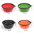 Wholesale 2 in 1 Water and Food Outdoor  Eco Friendly Collapsible Travel Anti Choke Non Spill Silicone Slow Eating  Dog Bowl