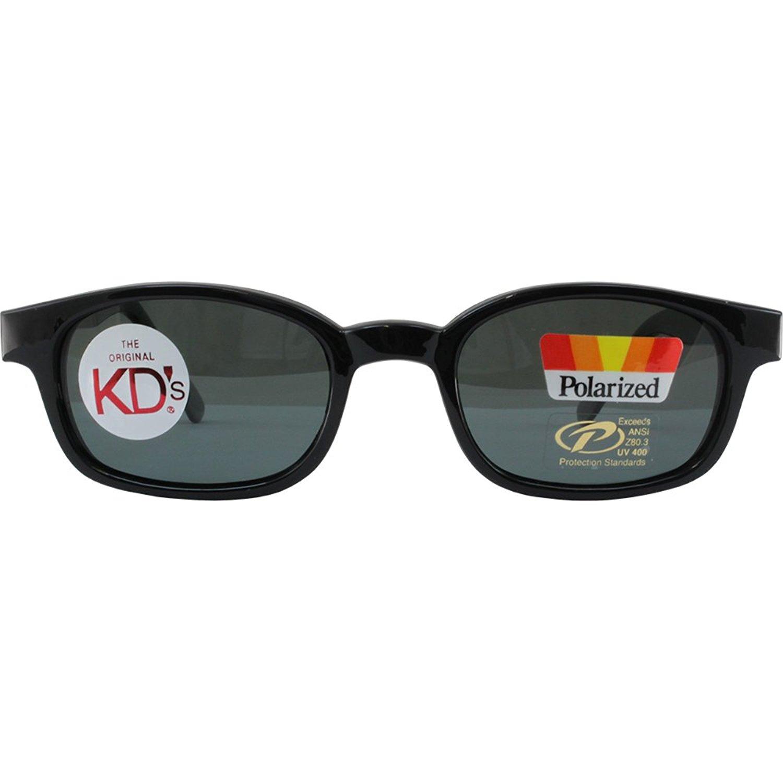 9481aec275 Get Quotations · The Original KD s Biker Shades By PCSUN Black Frames  Polarized Grey Lenses