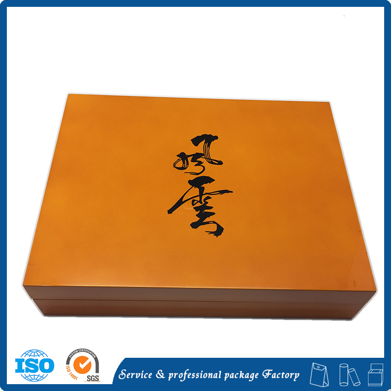 High Gloss Large Wooden Gift Box Display Box with Custom Logo